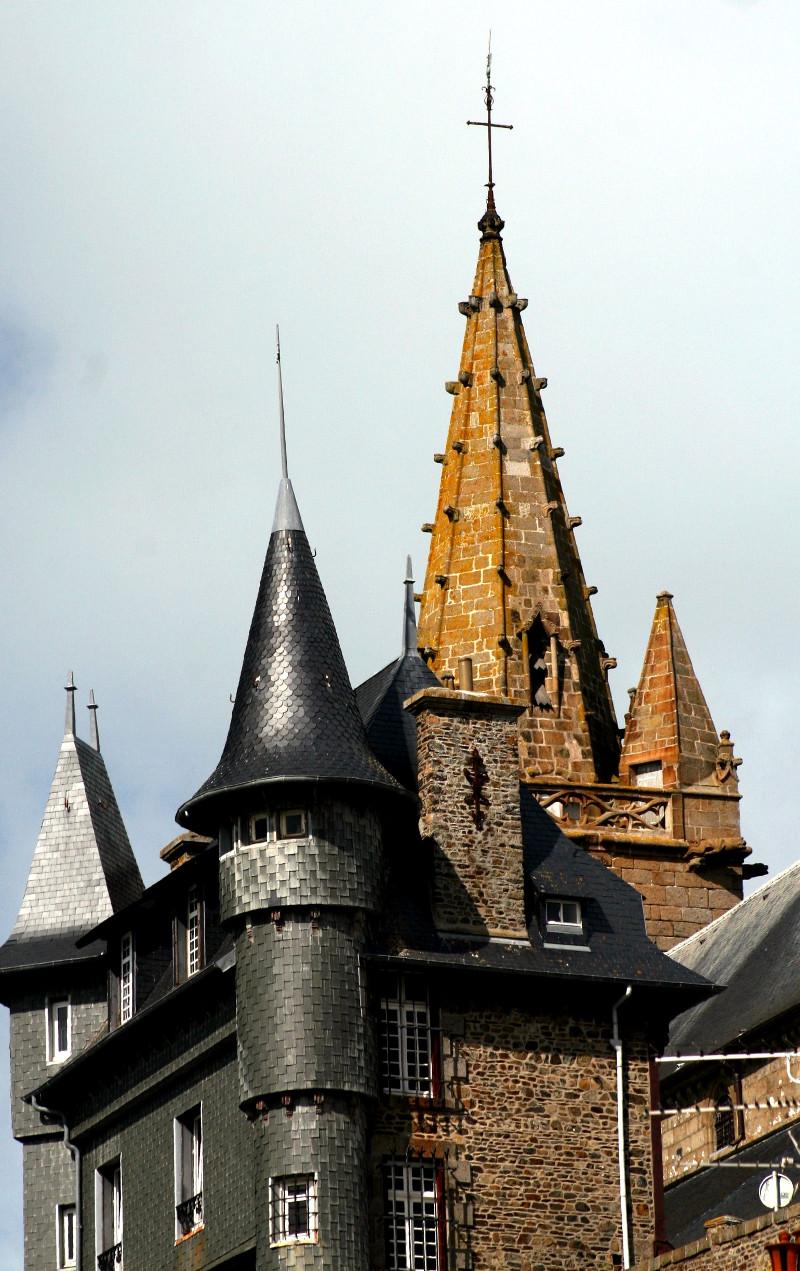 Granville: l'église Notre-Dame
