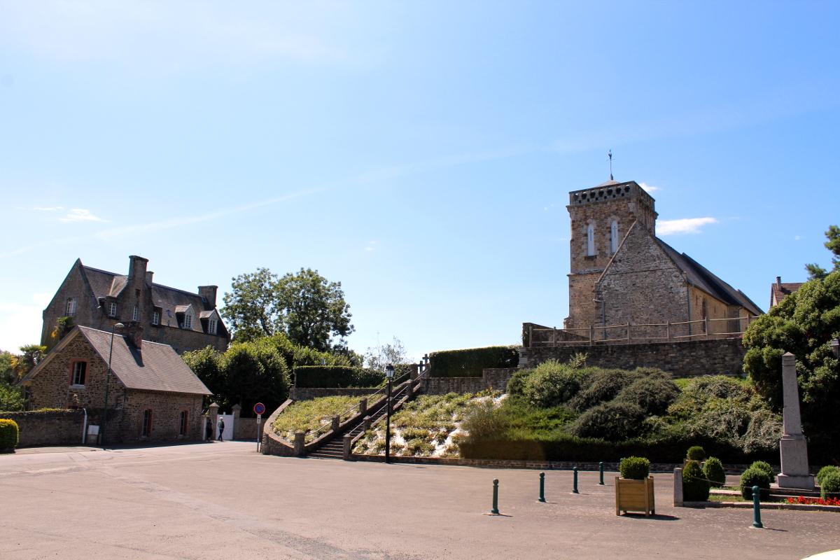St Jean Le Thomas, l'église