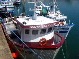 Granville: bateaux de pêche